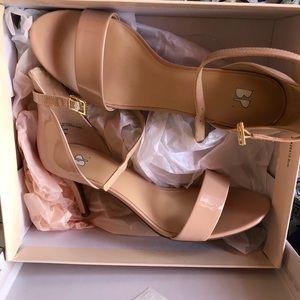 BP blush heels
